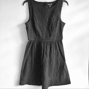 Elle Black Fit & Flare Dress SZ 12, Like New